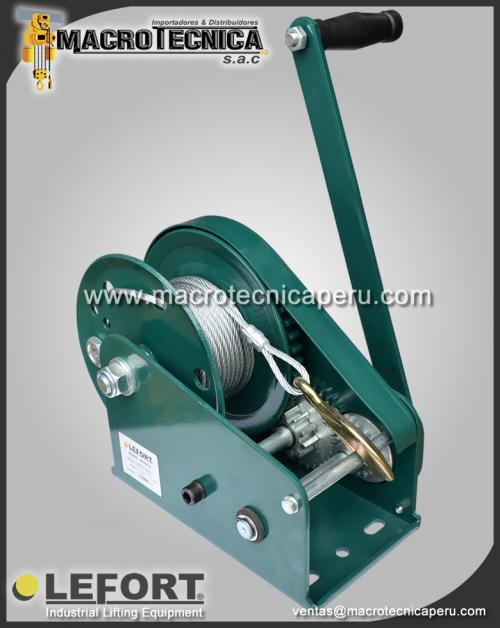 Winches Manuales