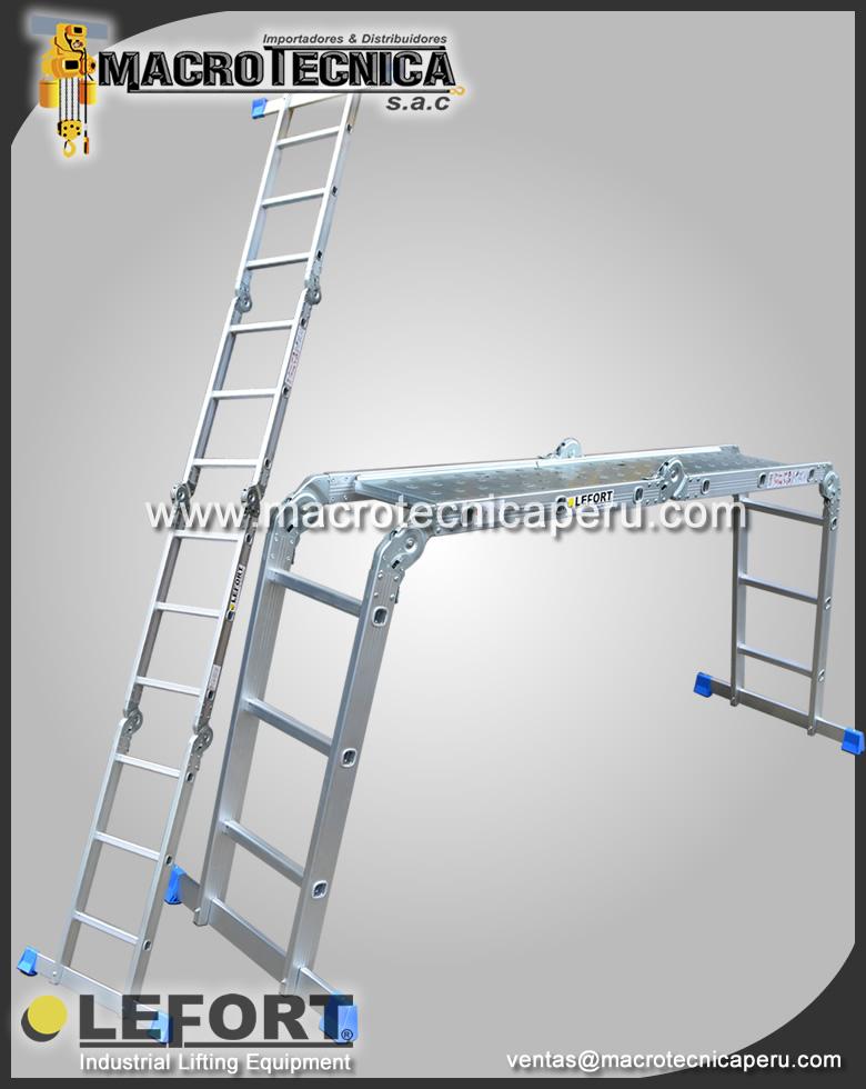 Escalera de aluminio Multipropósito