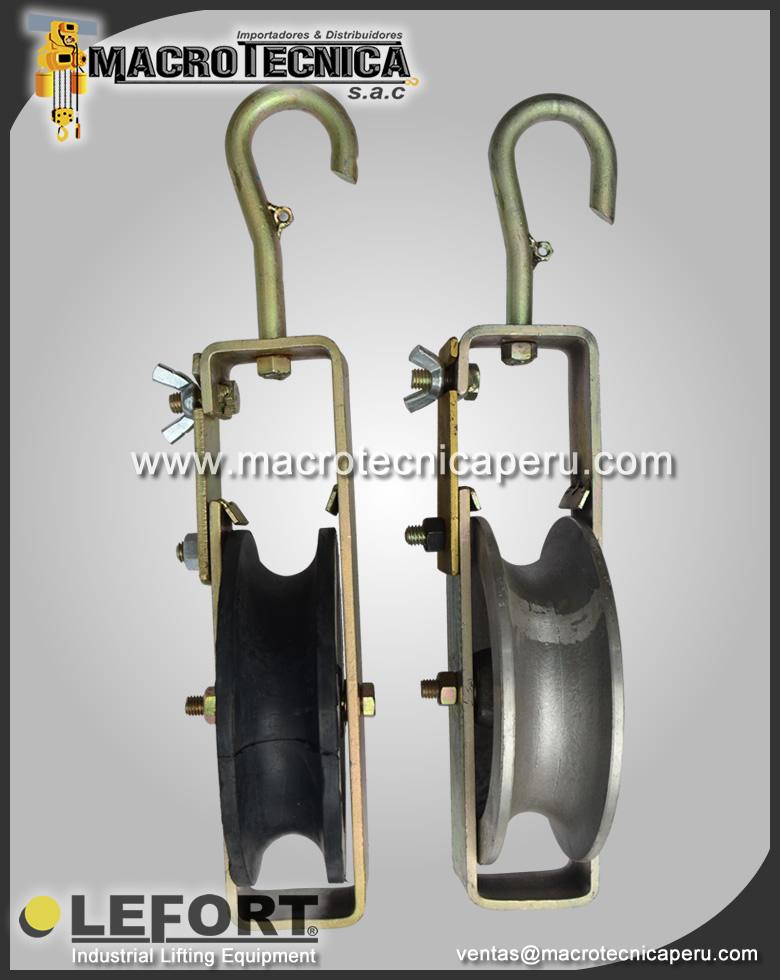 Poleas de Aluminio y Vulcanizadas
