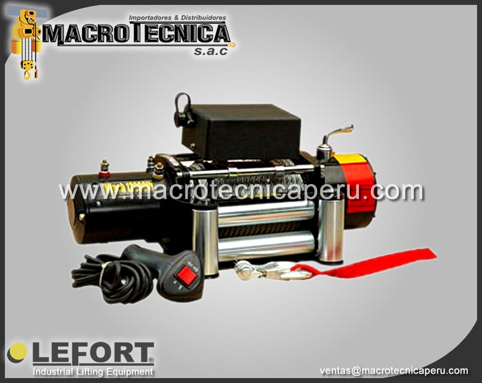 Winche para Autos 12V