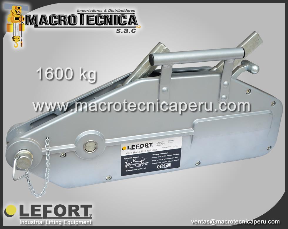 Tirfor Lefort 1.6
